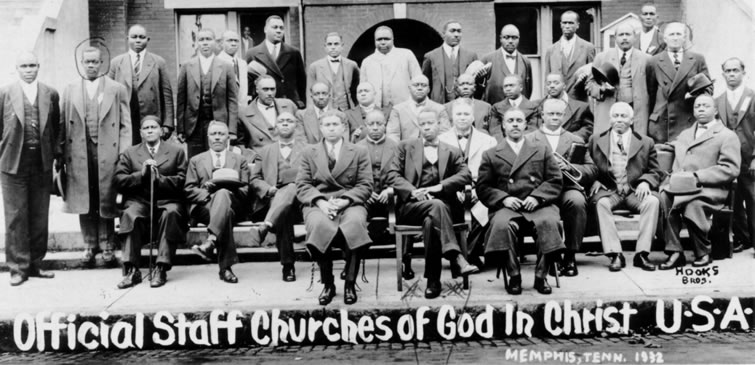 Official staff of Churches of God in Christ